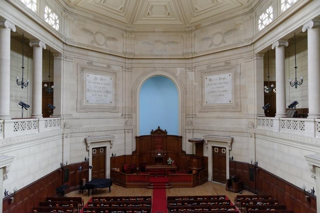 Travaux et réaménagement de l'abside