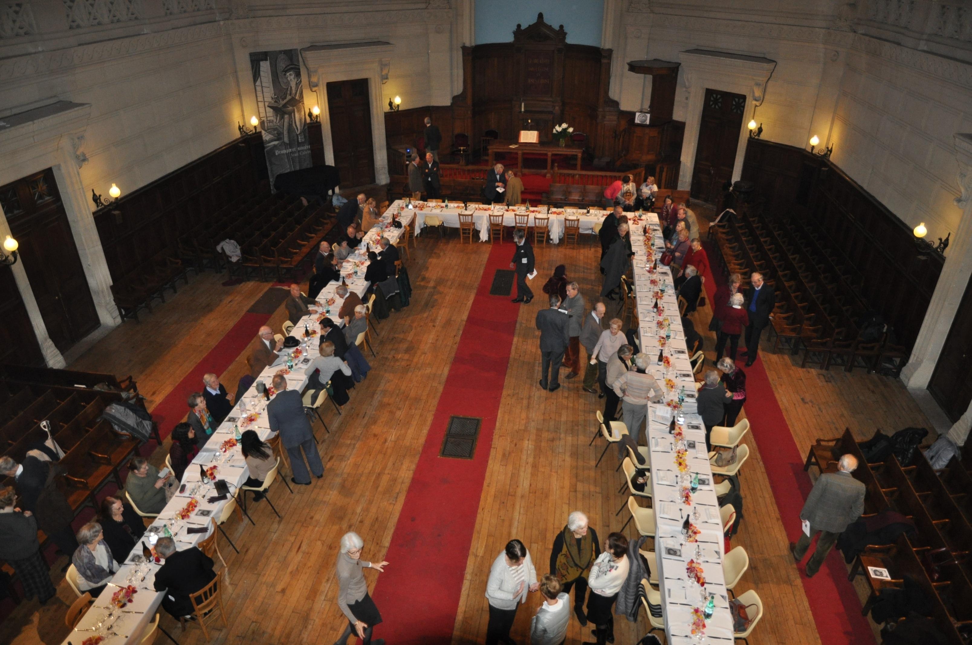 Le banquet pour les 500 ans de la Réforme
