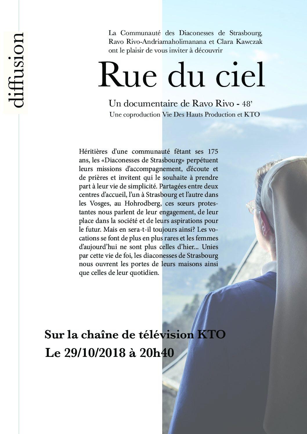 """""""Rue du Ciel"""" Un documentaire de Ravo Rivo"""