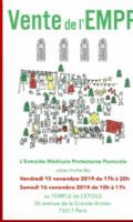 Vente de l'Entraide Médicale Protestante Pastorale