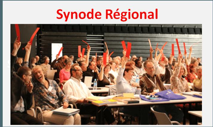 Synode Régional du 16 novembre 2019