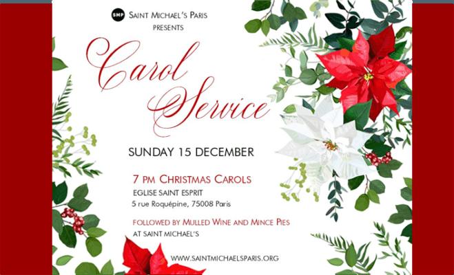 Carol service 2019